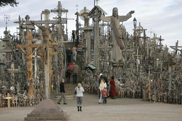 La colina de las cruces, Siauliai, Lituania