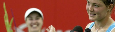 Dinara Safina y Martina Hingis