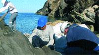 Derribo a mano del Club Med de Cadaqués