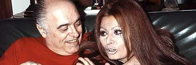 Sofía Loren y Carlo Ponti