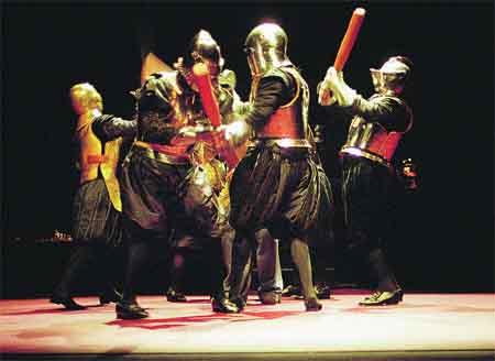 El Quijote renace con Els JOglars