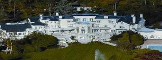 La mansión está situada a 45 km de Londres
