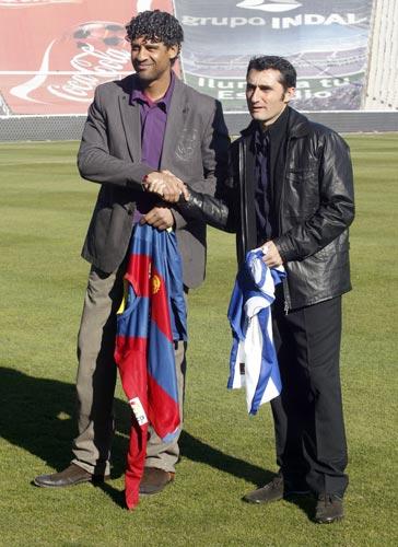 Rijkaard y Valverde