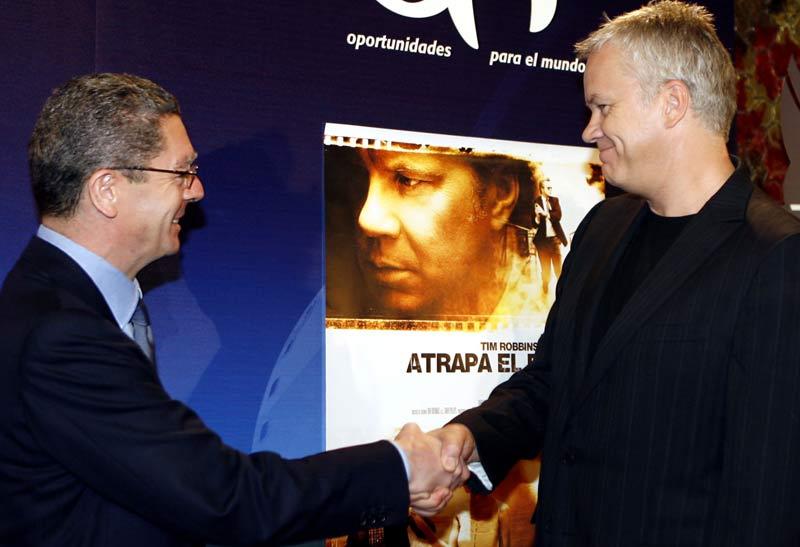 Tim Robbins en Madrid