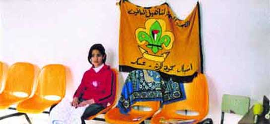 Chica palestina aspirante a acróbata