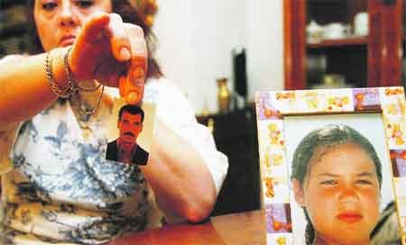Su ex pareja se llevó a su hija a Irak