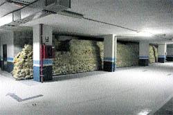 Cultura obligará al Metro a buscar una solución para no dañar la muralla