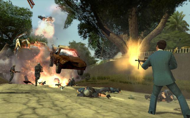 Captura del videojuego 'Scarface'