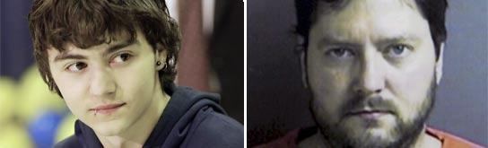 Shawn Hornbeck y su secuestrador, Michael Devlin