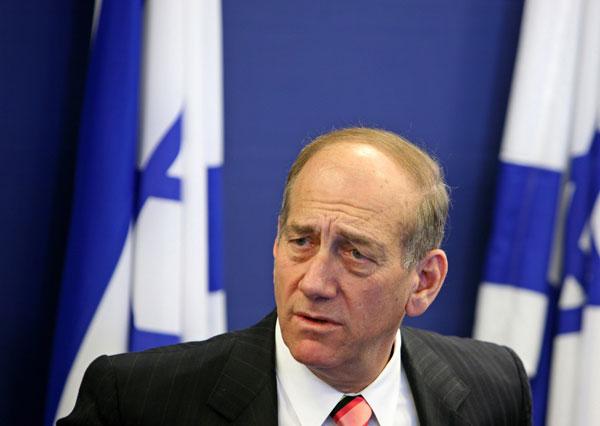 Ehud Olmert ha negado en todo momento las acusaciones. (Ammar Awad/Reuters)