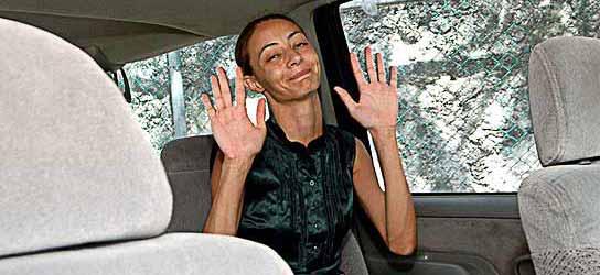 La pontevedresa Ana María Ríos Bemposta fue detenida en México cuando volvía de su luna de miel (Elisabeth Ruiz / EFE).