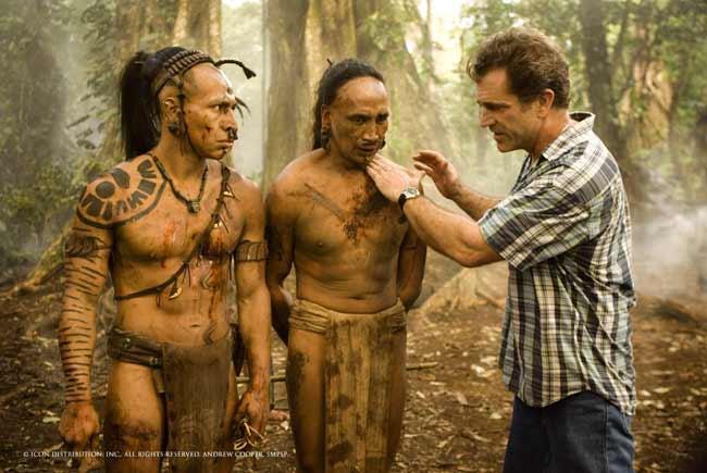 Mel Gibson dirige 'Apocalypto'