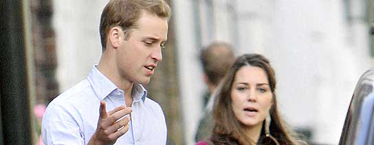 Kate Middleton y el Pr�ncipe Guillermo