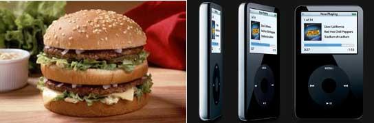 Big Mac y iPod