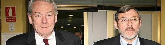 Lissavetzky y Richard Pound