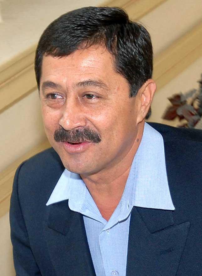 El nuevo Presidente de la Cámara de Senadores de Bolivia, José Villavicencia Amuruz