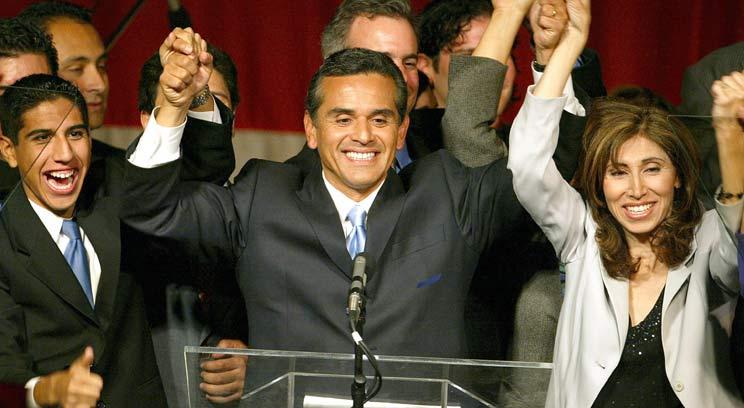 El alcalde de Los Angeles, Antonio Villaraigosa