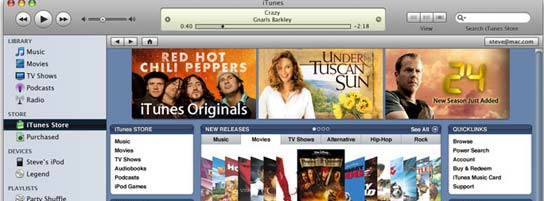 iTunes Store, de Apple