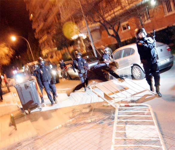 Manifestación prohíbida en Alcorcón