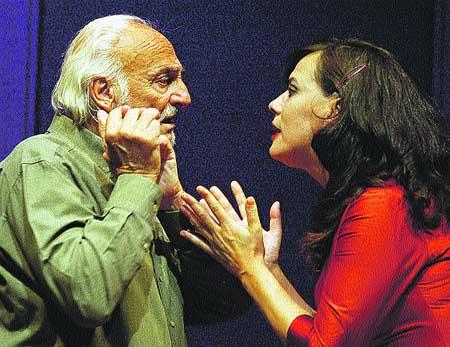 Héctor Alterio trae 'El túnel' a Lorca