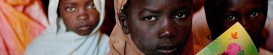 Niñas en Darfur