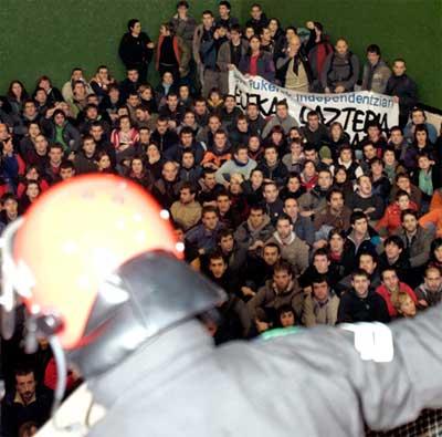 Detenciones en Bilbao