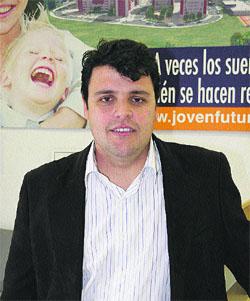 Ricardo Zamora, presidente de Joven Futura.