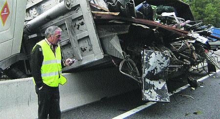 Los chalecos no logran reducir la cifra de conductores atropellados
