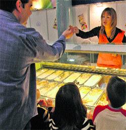 ¿Me pone un helado de atún y queso?