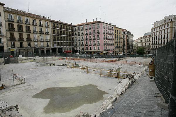 Remodelación de la Plaza de Santo Domingo
