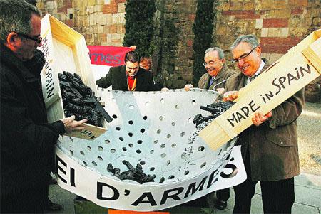 Exportación de armas transparente