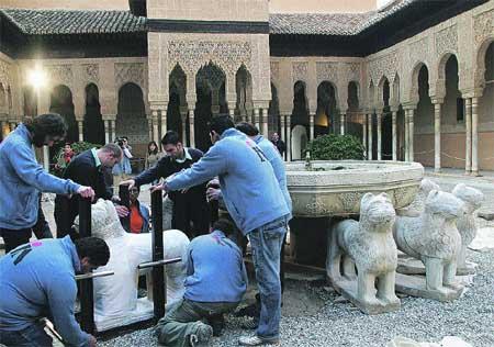 En tres días no habrá un solo león en la Alhambra