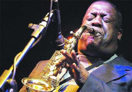 saxo y tradición de jazz