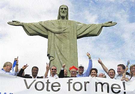 Vota por Cristo