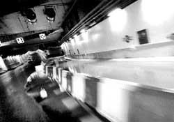 Cortan por inundación parte de un túnel de la M-30 el día del estreno