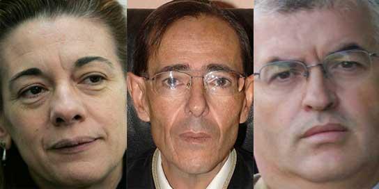 Manjón (i), Guevara (c) y Zamorano (d).
