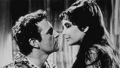 Imagen de la película de Cleopatra