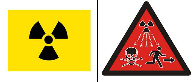 Estrenan una nueva seal de peligro por radiacin porque la