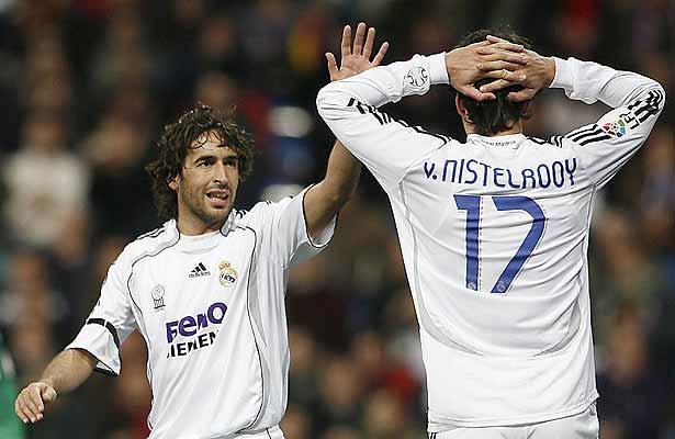 Raúl y Van Nistelrooy