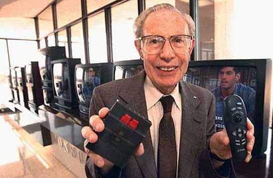Robert Adler, inventor del mando a distancia (y, con él, del zapping)