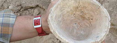 Excavaciones en una ciudad siria