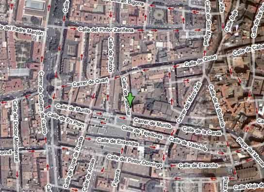 Las obras de un parking hunden una finca en la calle palomar - Edificio palomar valencia ...