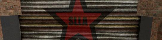 Cuartel general de la Second Life Liberation Army.