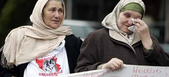 Decepción para las familias de los muertos en Srebrenica
