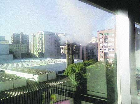 El humo de la caldera del morales meseguer en casa - La casa de las calderas ...