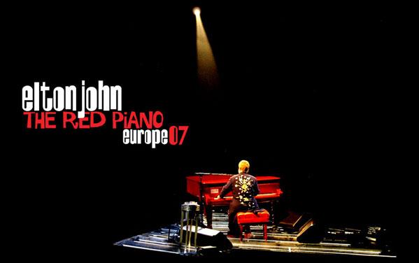 Elton John, The red piano tour