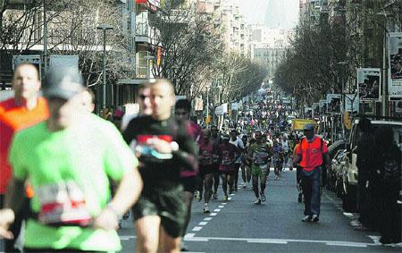 Rècord d'atletes a la Marató