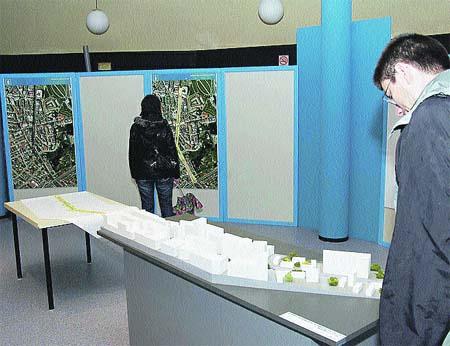 Más de 300 coruñeses ya vieron el proyecto de derribo del viaducto