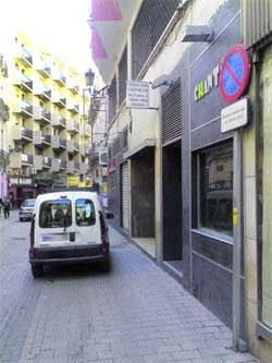En calle Comedias, el peatón no cuenta