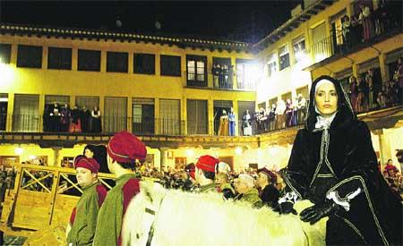 Tordesillas, locos por su Reina Juana